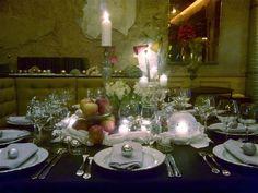 Diner #findining #ralphnuss #artdelatable #candles #tablessettings #noel #christmas #chef