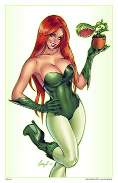 @deviantART Picks: Week of 3/16/2014 #PoisonIvy #TMNT #Vampirella | Images Unplugged