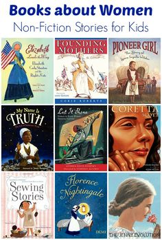 Non-Fiction Books about Women for Kids - Books to Read - Buch Good Books, Books To Read, My Books, Teen Books, Fiction Stories For Kids, Kids Reading, Reading Lists, Reading Nook, Children's Literature