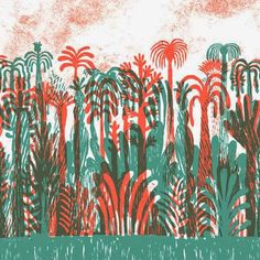 "patternprints journal: SCRATCHY PATTERNS AND TEXTURES IN WONDERFUL ILLUSTRATIONS OF BOOK ""RE TIGRE"""