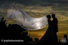 foto de boda en el Huerto de Santa María