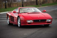 After the Ferrari Testarossa went out of production in 1991, Ferrari followed up with the 512 TR. It... - Darin Schnabel/RM Sotheby's