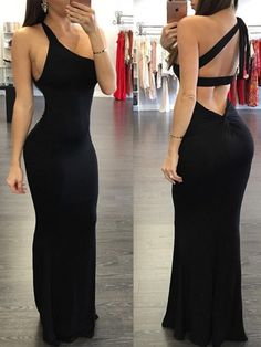 Elegant One Shoulder Open Back Bandage Maxi Dress, Shop plus-sized prom dresses for curvy figures and plus-size party dresses. Ball gowns for prom in plus sizes and short plus-sized prom dresses for Mermaid Prom Dresses, Bridesmaid Dresses, Elegant Dresses, Formal Dresses, Party Dresses, Black Mermaid, Popular Dresses, The Dress, Dress Girl