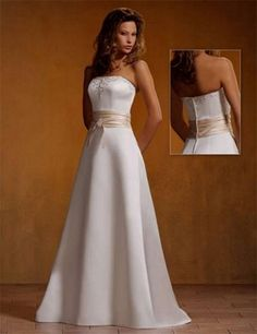 Sexy 2nd Marriage Wedding Dresses | Gorgeous Casual Wedding Dress2
