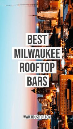 Summer's here, and there's no better way to enjoy the warmer weather than by spending time at one of Milwaukee's Best Rooftop Bars! Milwaukee Bars, Milwaukee Wisconsin, Milwaukee Restaurants, Rooftop Dining, Rooftop Patio, Best Team Names, Best Rooftop Bars, Old Trains