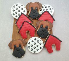 biscoitos decorados tema cachorrinhos - Pesquisa Google