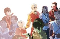 The Gaang. | Avatar: The Last Airbender / The Legend of Korra | Know Your Meme