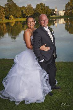 Tóparti esküvői fotózás