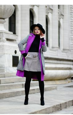 This is Julia's buyer show in OurMall;  #HAT #COAT #COAT #SWEATER #SKIRT #BOOT please click the picture for detail. http://ourmall.com/?VJfAfu