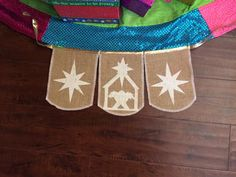 A personal favorite from my Etsy shop https://www.etsy.com/listing/241344553/away-in-a-manger-burlap-handmade-banner