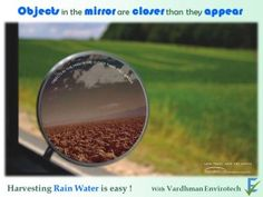 Objects in the Mirror are closer than they appear ! – Vardhman Envirotech