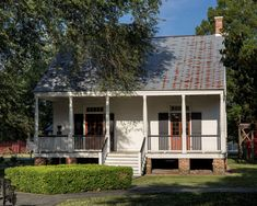 Structures Creole Cottage, Wayfinding Signs, Shotgun House, Journey To The West, Brick Building, Historic Homes, Louisiana, Entrance, Shed