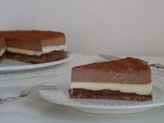 torta al triplo cioccolato