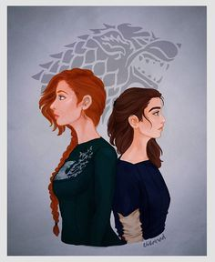 Game of Thrones - Stark sisters