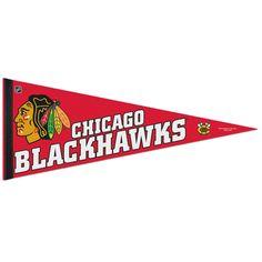 Chicago Blackhawks Pennant by WinCraft (Set of 2) | Sports World Chicago $9.95  #ChicagoBlackhawks