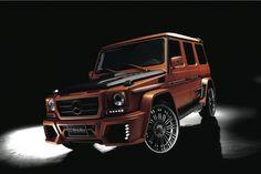 Mercedes-Benz G-Class Sports Line Black Bison