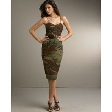 camo brides maid dresses wedding-burlington