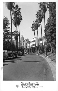 ICONIC HOTELS | THE BEVERLY HILLS HOTEL:  1947.  Courtesy UC CA Digital Library.