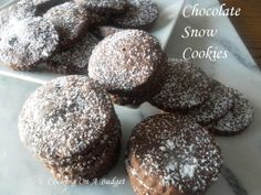 Rich chocolate flavor and all for under $3.00. http://pattyandersonsblog.blogspot.com/2014/03/chocolate-snow-cookies.html