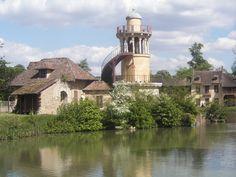 Chateau de Versailles, France, House near the castle