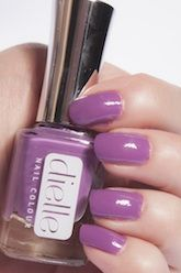 Dielle Nail Colour: Imperial Crown -Part of the Brights Collection, this plum shade is distinguished and delightful with a light purple undertone.