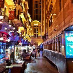 Szanghaj nocą - więcej zdjeć z Chin: http://www.ryszardlebmor.com/galeria/28-Oblicza_Chin.php