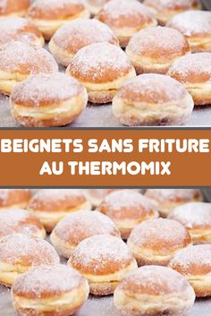 Beignets sans friture au Thermomix - Basic Homemade Bread Recipe - The healthiest bread to make? Beignets, Thermomix Bread, Thermomix Desserts, Creme Dessert, Bread Cake, Home Food, Charcuterie, Bread Recipes, Oreo