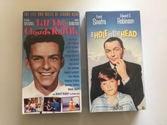Lot of 2 Frank Sinatra VHS Till The Clouds Roll by MsStreetUrchin