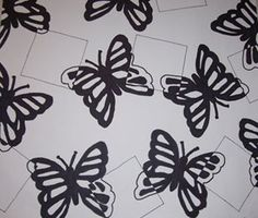 Art Lesson: Positive and Negative Marker Bug Drawings (with rubric)