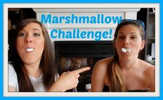 Marshmallow / Stuff Your Mouth Challenge!! // Channel Elle
