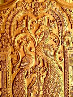 Carved Wooden Door Entrance New Ideas House Main Door Design, Single Door Design, Wooden Main Door Design, Door Gate Design, Room Door Design, Wood Design, Steel Bed Design, Pooja Room Design, Wood Carving Designs