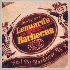 Check Out Leonard\'s BBQ in Memphis, TN as seen on Diners, Drive-ins and Dives and featured on TVFoodMaps.