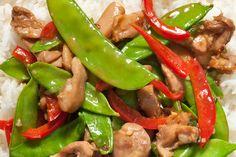 Easy Chicken Stir-Fry via www.Chow.com