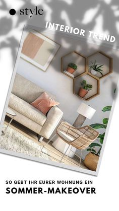 Summer Deco, Studio Living, Living Room Colors, Trends, Cozy Living, Interior, Summer, Ad Home, Homes