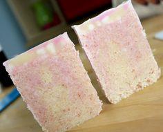Cold Process soap with pink Himalayan salt