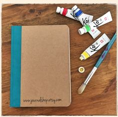 My new art journal made with Fabriano 300gsm watercolor paper. For big adventures!