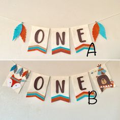Woodland tribal theme highchair one banner, sigin,bear, fox, feather, tepee decorations felt banner by LoveHKStore on Etsy https://www.etsy.com/listing/560500300/woodland-tribal-theme-highchair-one