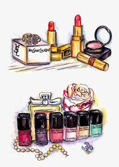 You always look so good creation art, makeup art, beauty makeup, fashion illustrations Makeup Illustration, Cute Illustration, Japanese Illustration, Makeup Clipart, Arte Fashion, Fashion Design, Perfume Making, Beauty Art, Makeup Art