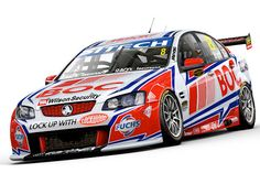 Brad Jones Racing have unveiled the new livery for Jason Bright's #8 Holden Commodore with which he will contest the 2012 V8 Supercars season.