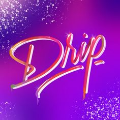 Drip your passion - Hand Lettering for creative entrepreneurs