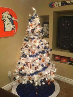 Denver Bronco Christmas Tree | photos | Pinterest | Denver ...