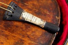 Titanic Violin Confirmed Authentic By CT Scan; Instrument Belonged To Bandmaster Wallace Hartley. #Titanic #Violin #Artifact