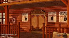 Best Sims, Sims 3, Western Art, Wild West, Outdoor Decor, Home Decor, Room Interior Design, Decoration Home, Room Decor