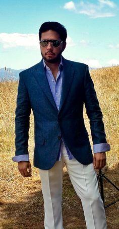 33 mejores imágenes de C.  Trajes de  lino  moda  hombre  lino ... 6a8b853126b