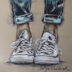 """Saatchi Online Artist Yuliya Vladkovska; Painting, """"allstars"""" #art"""