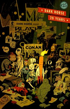 Dark Horse Twenty Years - Mike-Mignola