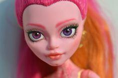 OOAK Monster High Gigi Grant Custom Face by MadeleineMaiStudio