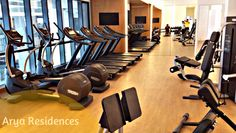 Arya Residences collaborated with E-Sports to deliver training and safety features into their gym systems through the Forma cardio line of Technogym.
