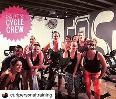 What an awesome PartyCycle crew!!! Follow @curlpersonaltraining  for more motivating Fitness Posts!! @curlpersonaltraining with @repostapp  You say  we say ! #alf #curlpt #spinclass #spinning #werideasone #thirstythursday #hillcrest #normalpic #spinfamily