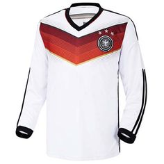Germany Soccer Jersey World Cup National Home Team  Easy & Unique! Make your own special look! Size : XS, S, M, L, XL, XXL (US Size) Material : 100% Polyester Color : Yellow Country of Manufacture : Made in Korea